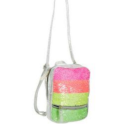 Fashion Angels Girls Sequin Neon Micro Mini Backpack