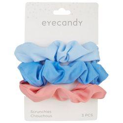 Eye Candy 3-pk. Hair Scrunchies