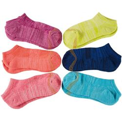 Girls 6-pk. Solid Ultra Tec No Show Socks