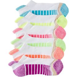 Girls 6-pk. Ultra Tec Tab No Show Socks