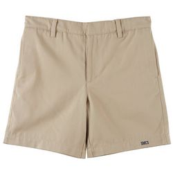 School Colors Little Boys St. Martha Twill Uniform Shorts