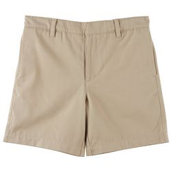School Colors Little Boys St. Mary Twill Uniform Shorts