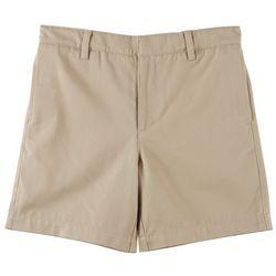 Little Boys St. Mary Twill Uniform Shorts