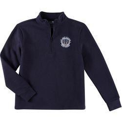 School Colors Adult St. Mary Uniform 3/4 Zip Sweatshirt
