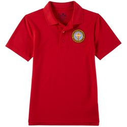 School Colors Youth St. Martha Uniform Polo Shirt