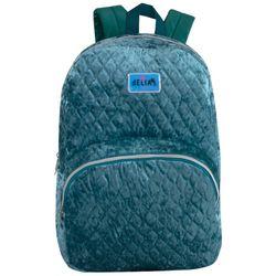 Delias Crushed Velvet Backpack