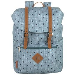 Madison And Dakota Diamond Print Backpack