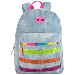 Delias Fuzzy Rainbow Backpack