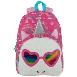 Madison And Dakota Fuzzy Unicorn Backpack