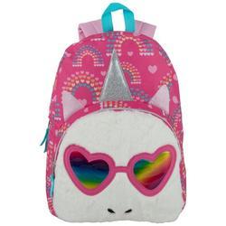 Fuzzy Unicorn Backpack