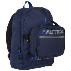 Nautica Kids Racer Backpack With Lunch Bag