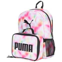 Puma Tie Dye Backpack & Lunch Box Set