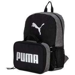 Puma Colorblocked Backpack & Lunch Box Set