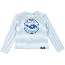 Toddler Girls Striped Long Sleeve Top