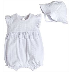 Kyle & Deena Baby Girls 2-pc. Solid Textured