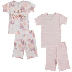 Toddler Girls 4-pc. Little Dreamer Pajama Set