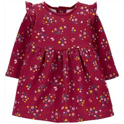 Baby Girls 2-pc. Cozy Floral Dress