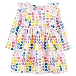 Baby Girls Multicolor Heart Dress