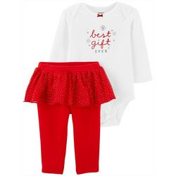 Carters Baby Girls Best Gift Ever Tutu Bodysuit Set