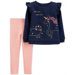 Carters Baby Girls 2-pc. Magical Besties Leggings Set