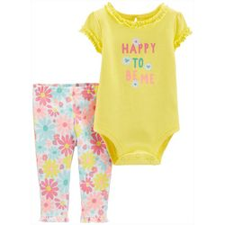 Carters Baby Girls Happy To Be Me Floral
