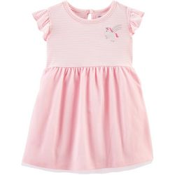 Carters Baby Girls Striped Unicorn Tutu Dress