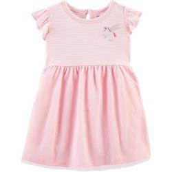 Baby Girls Striped Unicorn Tutu Dress