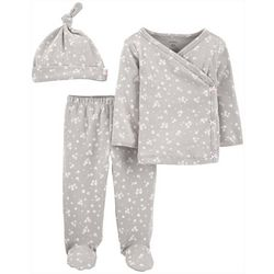 Baby Girls 3-pc. Take Me Home Set