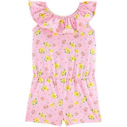 Toddler Girls Floral Romper