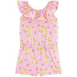 Toddler Girls Floral Romper