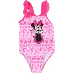 Disney Baby Girls Minnie Mouse Ruffle Swimsuit