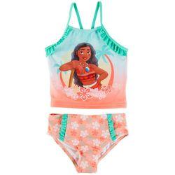 Disney Princess Toddler Girls 2-pc. Moana Swimsuit Set