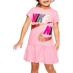 Toddler Girls Peplum Dress
