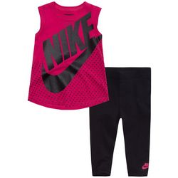 Nike Toddler Girls Logo Tunic & Leggings Set