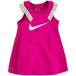 Nike Toddler Girls Swoosh Taping Dress