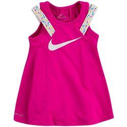 Toddler Girls Swoosh Taping Dress