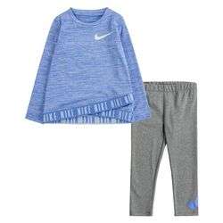 Nike Toddler Girls 2-pc. Shine Tunic Set