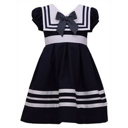 Bonnie Jean Toddler Girls Nautical Dress