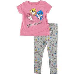 Baby Girls 2-pc. Feelin' Fin-Tastic Pants Set