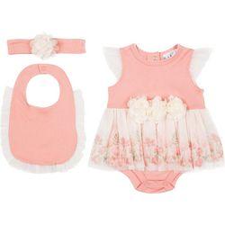 Nicole Miller New York Baby Girls 3-pc. Skirt Set