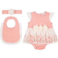 Baby Girls 3-pc. Skirt Set