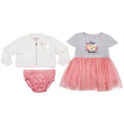 Little Lass Toddler Girls 2-pc. Love Always Dress Set