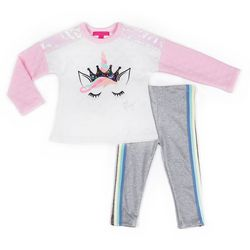 Toddler Girls 2-pc. Sequin Unicorn Set
