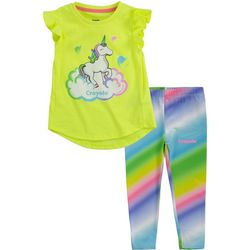 Crayola Toddler Girls 2-pc. Unicorn Leggings Set