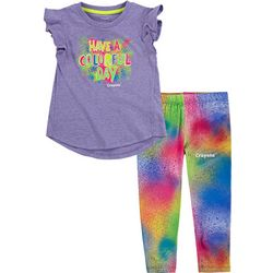 Toddler Girls 2-pc. Have A Colorful Day Leggings Set