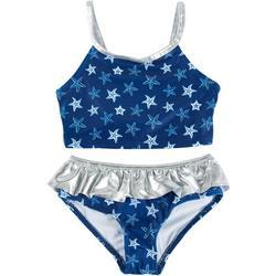 Toddler Girls Starfish Tankini Set