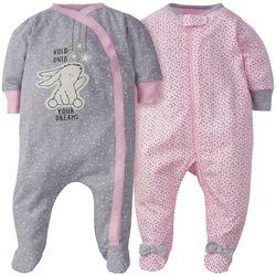 Gerber Baby Girls 2-pc. Bunny Long Sleeve Sleeper