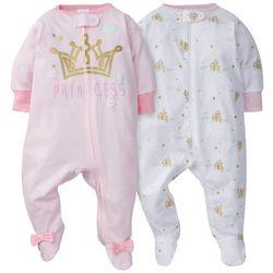 Gerber Baby Girls 2-pc. Princess Sleeper Set
