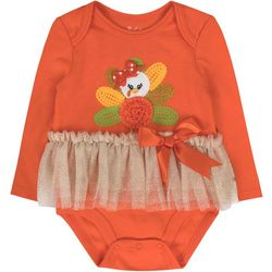 Girls Turkey Tutu Bodysuit
