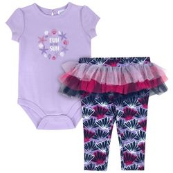 Sunshine Baby Baby Girls Fun In The Sun Tutu Leggings Set